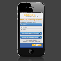 EC mobile site and kiosk interface